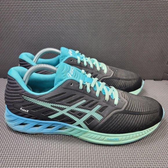 Asics Shoes   Womens Sz Black Asics Fusex Running Shoes   Poshmark